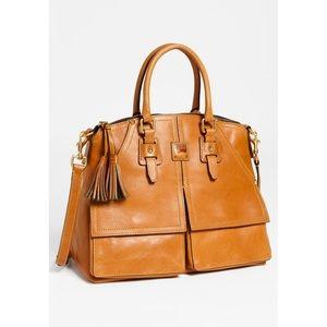 Dooney & Bourke Clayton leather satchel